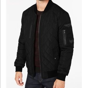 Quilted Bomber (with patches) | Calvin Klein
